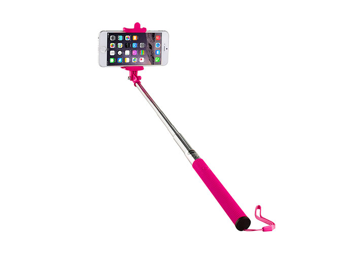 Addison AD-S36 Kablolu Pembe Selfie Çekim Çubuğu