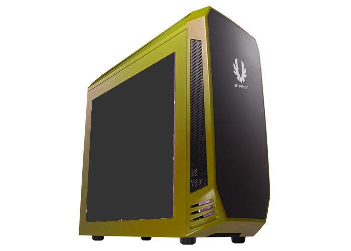 BitFenix AEGIS 1*120mm Fan Sarı 2*Usb 3.0 4Pin Fan Komutalı Pencereli Oyuncu Kasası