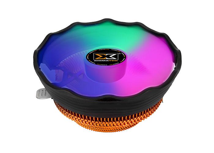Xigmatek EN42296 APACHE PLUS 12cm Renkli CPU Fan