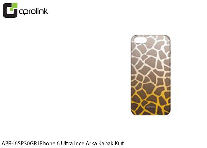 Aprolink APR-I6SP30GR Kalp Desenli iPhone 6 Ultra İnce Arka Kapak