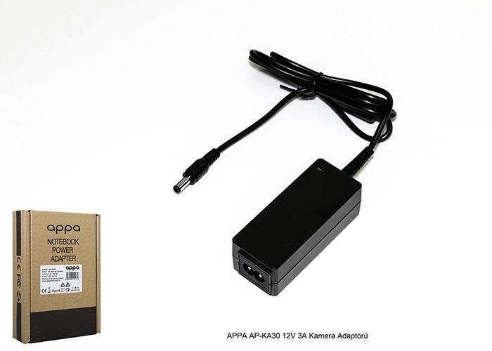 APPA AP-KA30 12V 3A Kamera Adaptörü