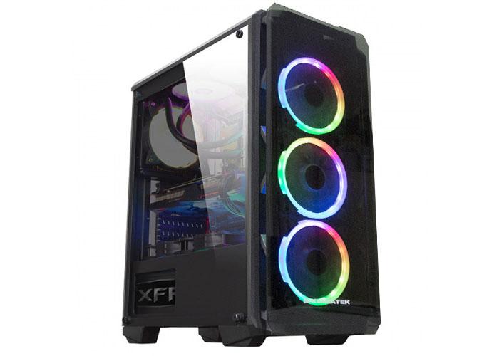 Xigmatek EN42067 ASTRO METALİK GRİ 650W 80Plus Power + 4 Adet RGB Led Fanlı + 1*Usb 3.0 2*Usb 2.0 Temper Camlı Oyuncu Ka