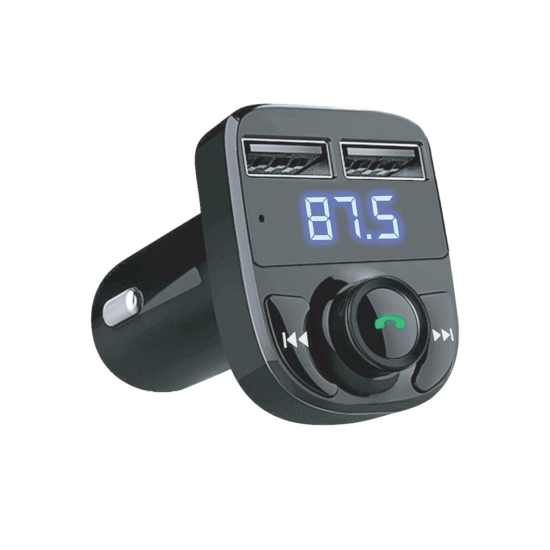 Asonic AS-A41 Çift USB 5V 3.1A Led Ekran USB+TF Desteği Siyah Bluetooth Fm Transmitter