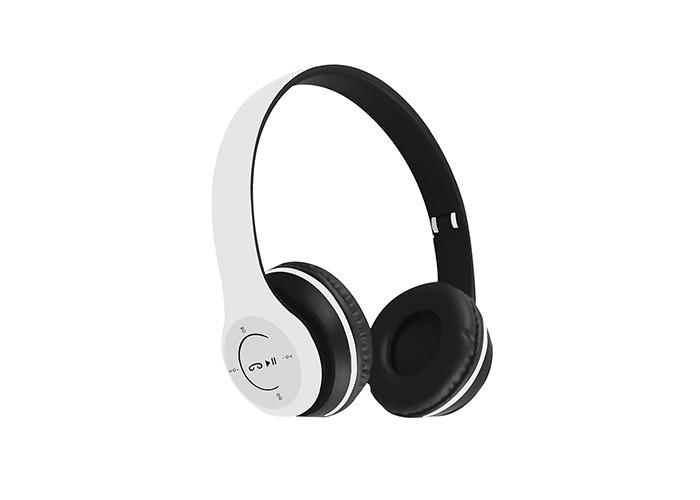 Asonic AS-K02 Siyah/Beyaz Karışık TF Kart Özellikli Bluetooth Kulaklık