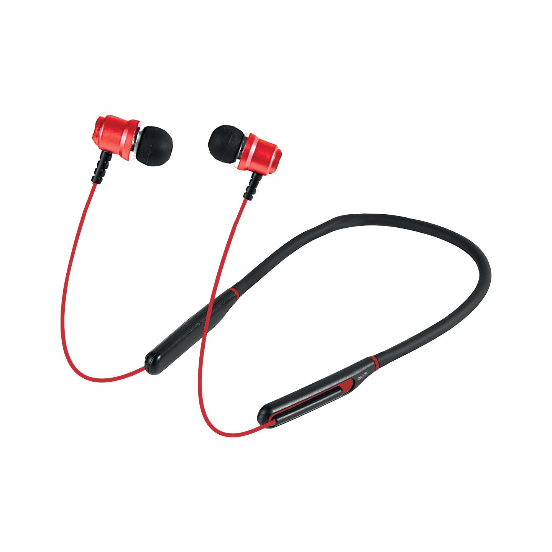 Asonic AS-XBK65 Kırmızı Boyun Askılı Mıknatıslı Bluetooth Spor Kulak içi Kulaklık  Mikrofon