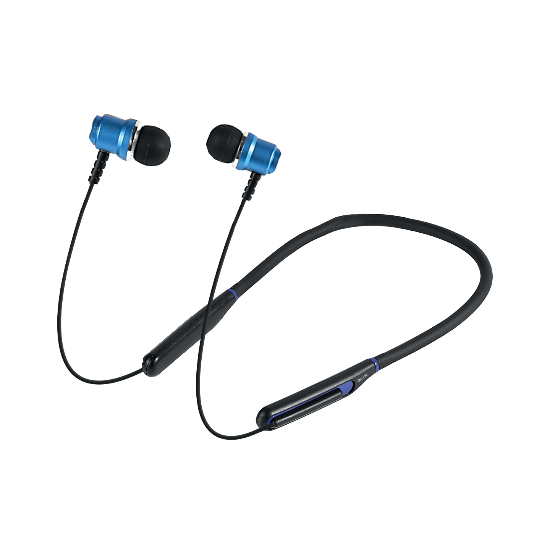 Asonic AS-XBK65 Siyah/Mavi Boyun Askılı Mıknatıslı Bluetooth Spor Kulak içi Kulaklık  Mikrofon