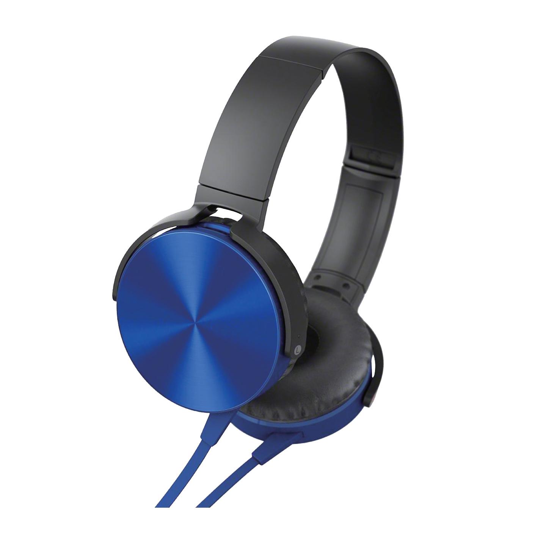 Asonic AS-XK45 Mavi 3,5mm Harici Kablolu PCTelefon Mikrofonlu Kulaklık