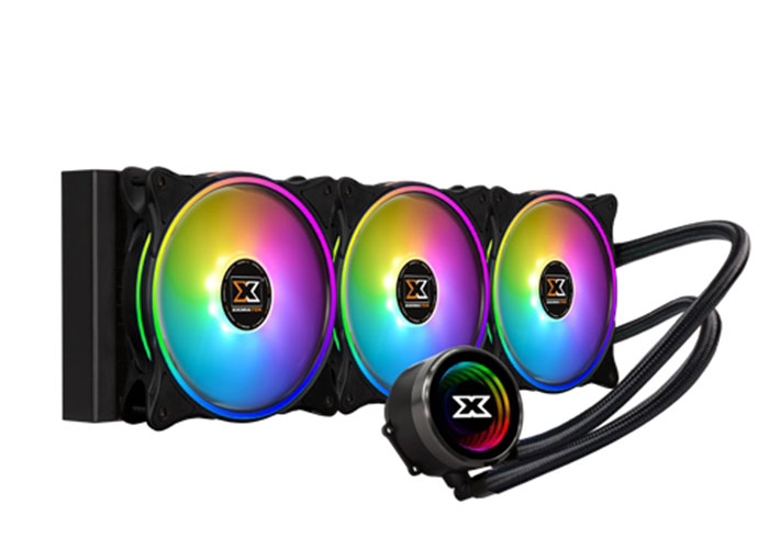 Xigmatek Aurora 360 EN42814 İntel/Amd Tümü 3*120mm AT 120 Rainbow Fan CPU Sıvı Soğutucu