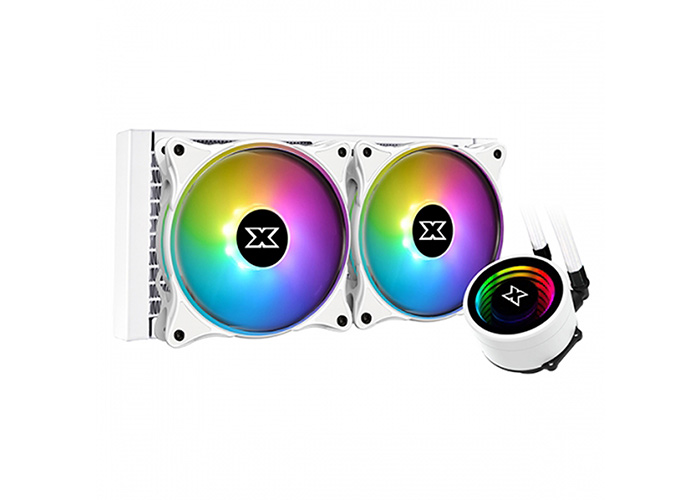 Xigmatek EN44337 Aurora Arctic 240 İntel/Amd Tümü 2*AT120 Fanlı CPU Sıvı Soğutucu