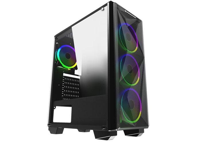 Xigmatek EN42661 BEAST 4*Rainbow Fan X-Power 650W 1*Usb 3.0 + 2* Usb 2.0 Gaming Kasa