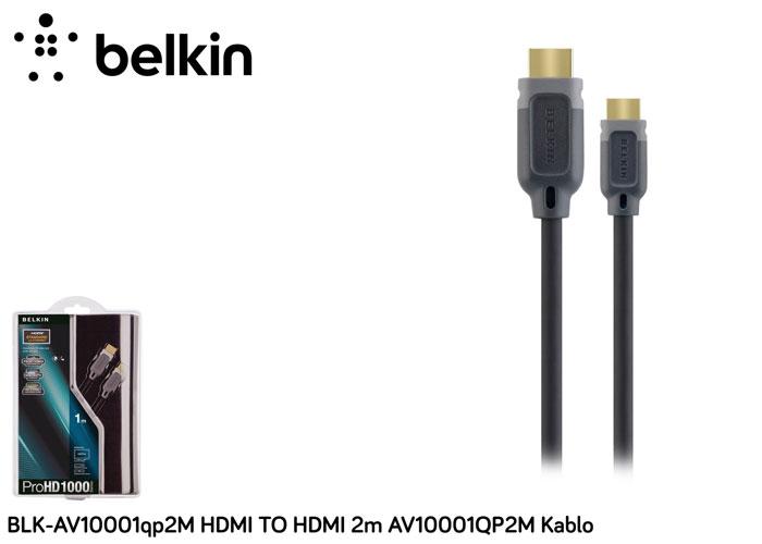 Belkin BLK-AV10001qp2M HDMI TO HDMI 2m AV10001QP2M Kablo