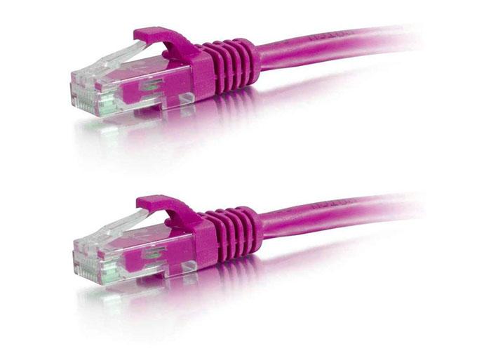 Belkin BLK-AV10128cw03PNKS 10m CAT5 Kablo