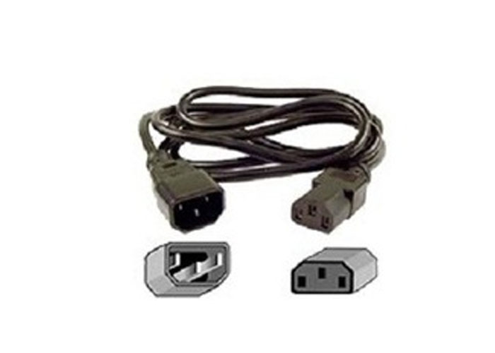 Belkin BLK-F3A102cp1.8M 1.8m Computer AC M / F power extension cordn Power Cable