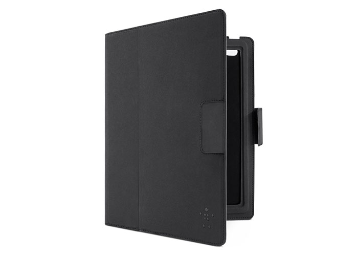 Belkin BLK-F5L114eaC00 Poliüretan Süet FolioKeyboard Siyah Tablet Pc Kılıfı
