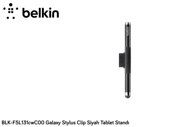 Belkin BLK-F5L131cwC00 Galaxy Stylus Clip Siyah Tablet Standı