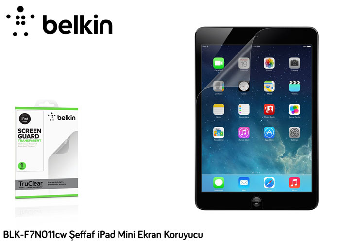 Belkin BLK-F7N011cw iPad Mini Transparent Screen Protector