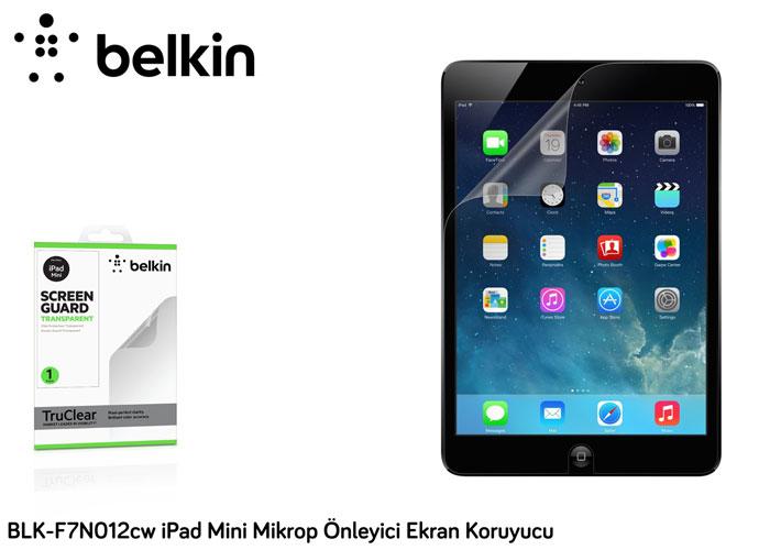 Belkin BLK-F7N012cw iPad Mini Mikrop Önleyici Ekran Koruyucu