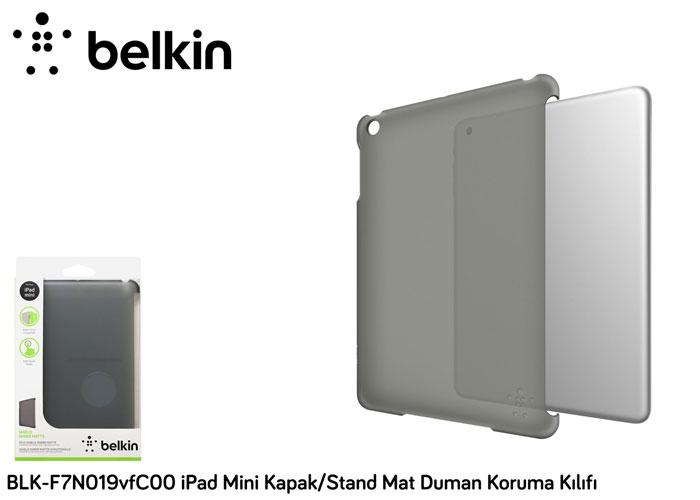 Belkin BLK-F7N019vfC00 iPad Mini Kapak/Stand Mat Duman Koruma Kılıfı