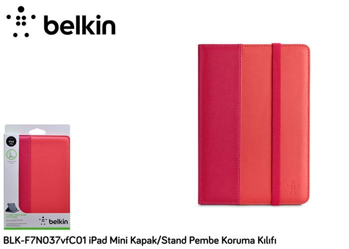 Belkin BLK-F7N037vfC01 iPad Mini Kapak/Stand Pembe Koruma Kılıfı