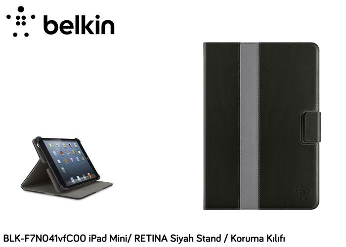 Belkin BLK-F7N041vfC00 iPad Mini/ RETINA Siyah Stand / Koruma Kılıfı