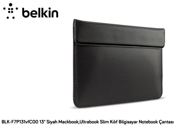 Belkin BLK-F7P131vfC00 15 Siyah Ultrabook Slim Mıknatıslı Bilgisayar Notebook Çantası