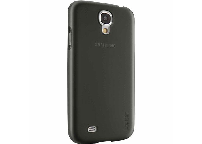 Belkin BLK-F8M550btC00 Siyah Samsung Galaxy S4 Saydam Kor. Arka Kapak