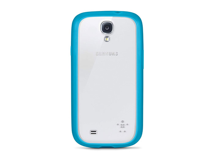 Belkin BLK-F8M565btC03 Mavi Samsung Galaxy S4 Şeffaf Arka Kılıf