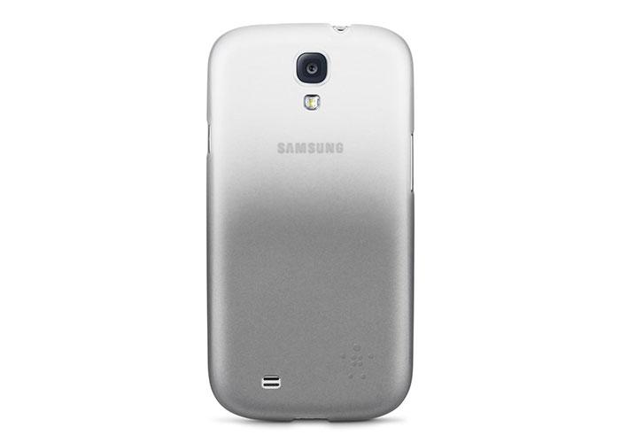 Belkin BLK-F8M566btC01 Beyaz Samsung S4 Arka Kapak Soft Koruma Kılıfı