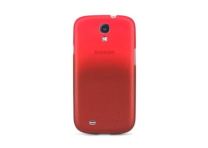 Belkin BLK-F8M566btC03 Kırmızı Samsung S4 Kılıf