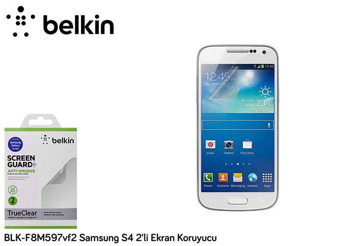 Belkin BLK-F8M597vf2 Samsung S4 2li Ekran Koruyucu