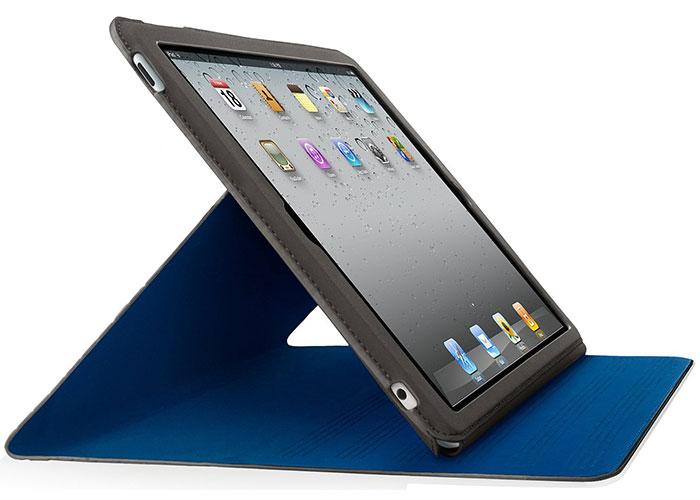 Belkin BLK-F8N605CWC02 iPad-2 Ultra İnce Siyah/Mavi Tablet Pc Kılıfı