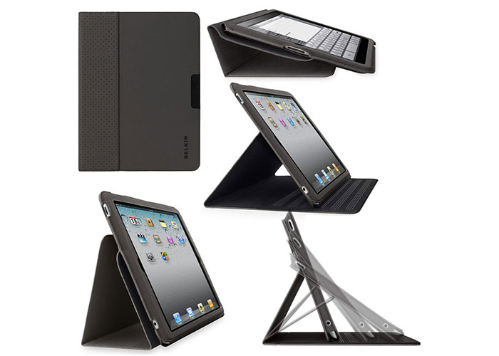 Belkin BLK-F8N649cwC00 iPad2G Stand/Kılıf Koruyucu