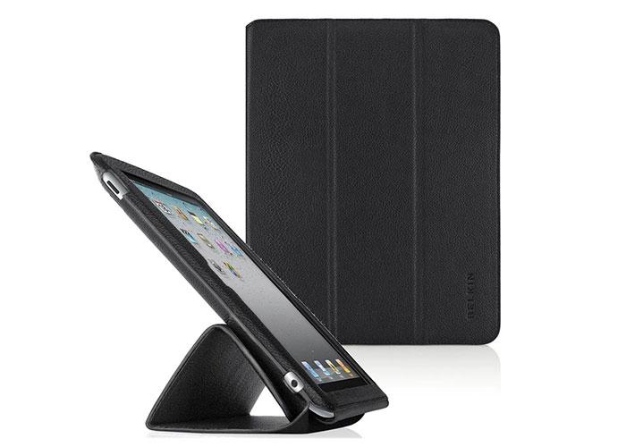 Belkin BLK-F8N650CWC00 iPad-2 Deri Mıknatıslı Siyah Tablet Pc Kılıfı