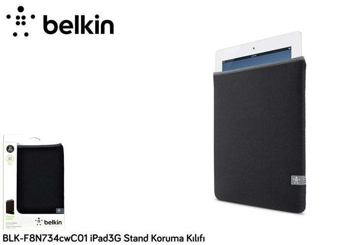 Belkin BLK-F8N734cwC01 iPad3G Stand Koruma Kılıfı
