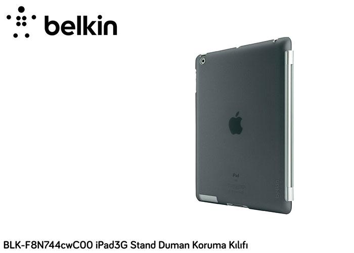 Belkin BLK-F8N744cwC00 iPad3G Stand Duman Koruma Kılıfı