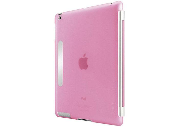 Belkin BLK-F8N745cwC04 iPad2/3 Pembe Arka Kapak Koruyucu