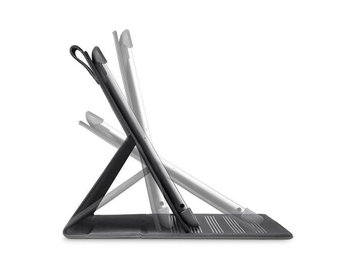 Belkin BLK-F8N753cwC01 iPad3 Katlama Slim Mıknatıslı Gri Stand/Kapak Koruyucu