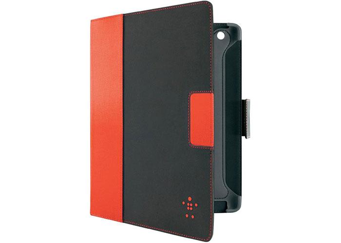 Belkin BLK-F8N772cwC01 iPad-Cinema Folio-Autowake Süet/Siyah Tablet Pc Kılıfı