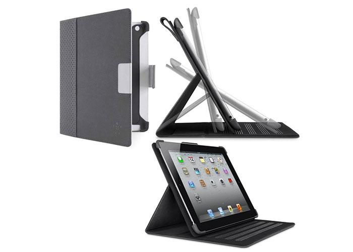 Belkin BLK-F8N773cwC02 iPad3 Stand /Kapak Koruyucu