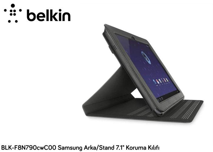 Belkin BLK-F8N790cwC00 Samsung Galaxy Tab Arka 10.1 Siyah Stand / Kapak