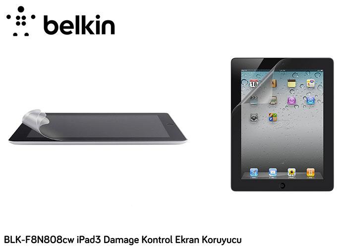 Belkin BLK-F8N808cw iPad3 Damage Kontrol Ekran Koruyucu
