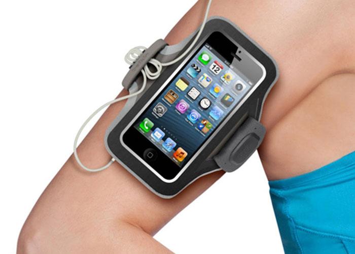 Belkin BLK-F8W105vfC00 Siyah iPhone5 Kol Bandı Koruma Kılıfı