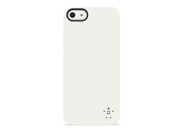 Belkin BLK-F8W127vfC05 Beyaz iPhone5 Arka Kapak Koruma Kılıfı