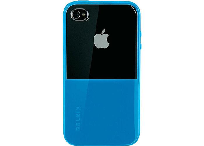 Belkin BLK-F8Z621cw142 Mavi iPhone4 Kapak