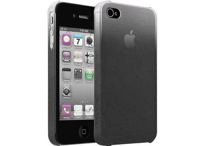 Belkin BLK-F8Z640cw146 Siyah iPhone 4 Arka Kapak Koruma Kılıfı