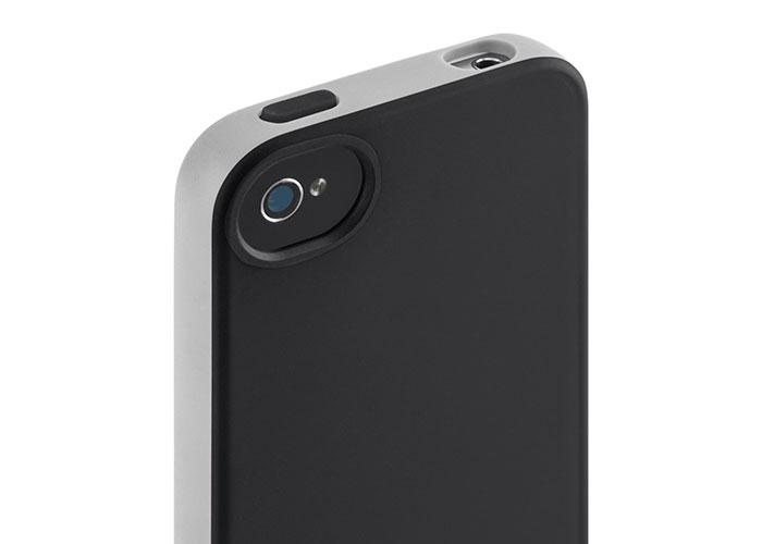 Belkin BLK-F8Z814cwC01 Siyah iPhone4S Grip Candy Kılıf