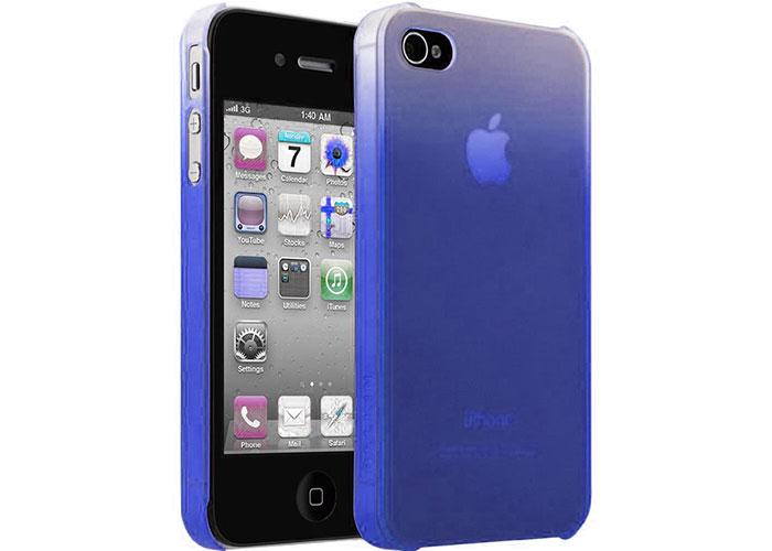 Belkin BLK-F8Z862cwC01 Mavi iPhone 4 Arka Kapak Koruma Kılıfı