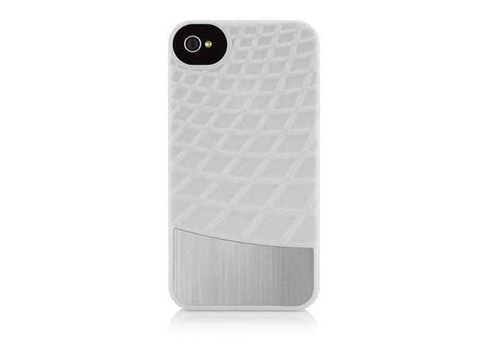 Belkin BLK-F8Z864cwC00 Beyaz iPhone 4 Arka Kapak Koruma Kılıfı