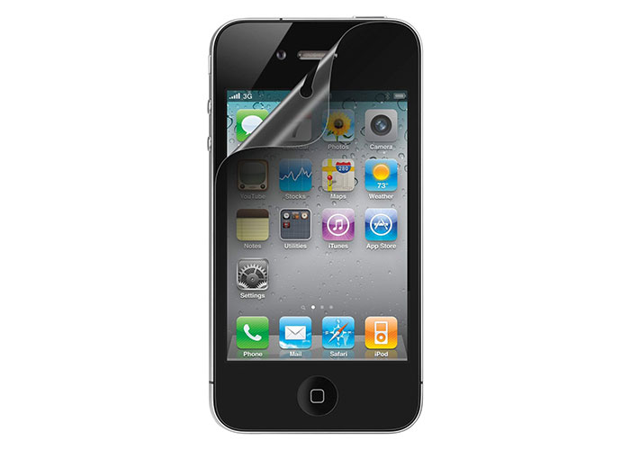 Belkin BLK-F8Z870CW iPhone 4 Ekran Koruyucu