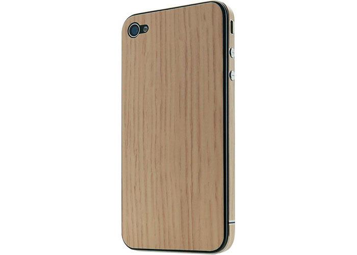 Belkin BLK-F8Z893cwC01 Kahverengi iPhone 4 Sticker Açık Koruma Kılıfı